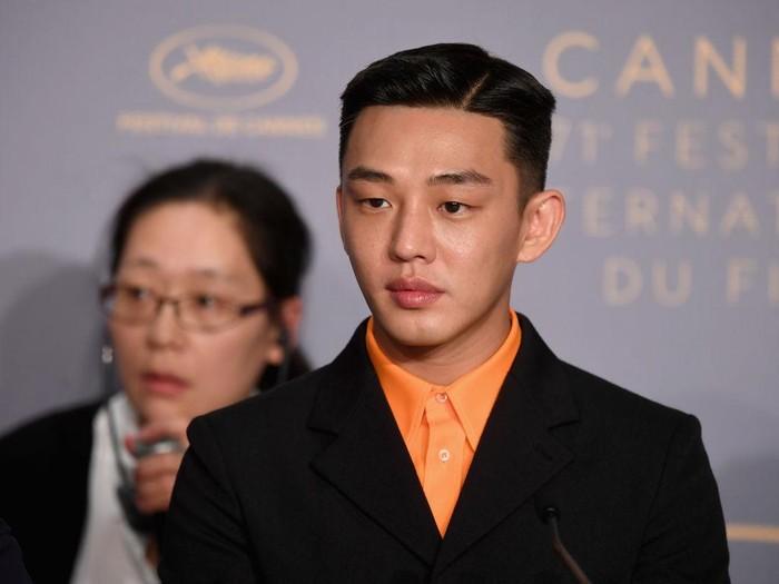 Yoo Ah In di konferensi pers film