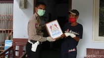 Korban Kecelakaan Terdampak Corona di Tulungagung Terima Bansos