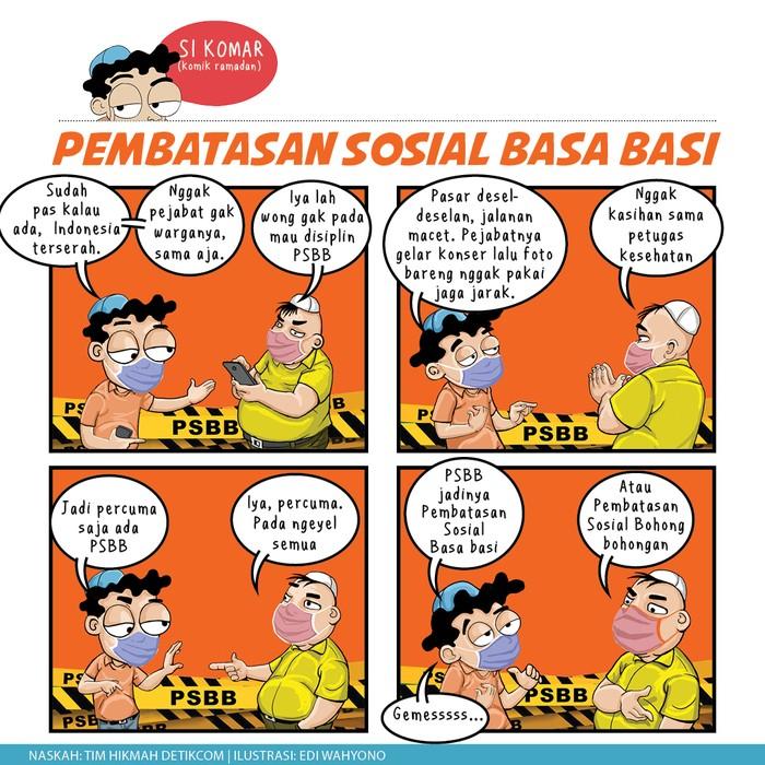 Komik Ramadhan, KOmar nikah