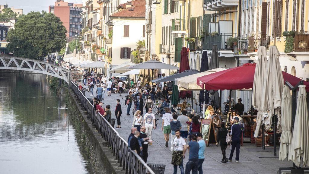 Italia dan Prancis Kembali Laporkan Lonjakan Kasus Usai Longgarkan Lockdown