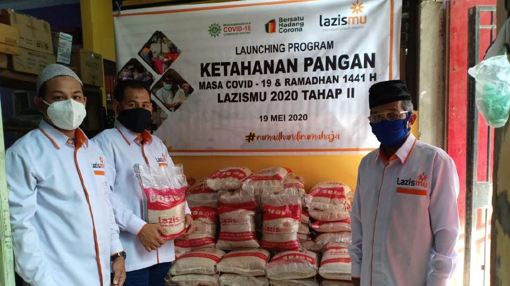 Lazismu Salurkan Bantuan Ketahanan Pangan Tahap 2 Senilai Rp 18,053 M