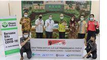 Olam Sumbang Rp 2,3 M ke 393 Ribu Petani dan APD ke Tenaga Medis