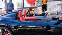 Ibrahimovic Pamer Kembali Ferrari Terkencang saat Rayakan Gol ke-501