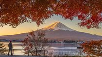 Foto: Gunung Fuji yang Cantik Kini Ditutup