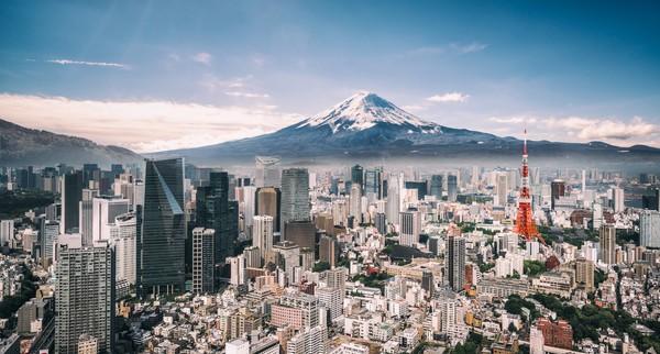 Gunung Fuji atau Fuji-san menjadi salah satu situs warisan dunia UNESCO. (Getty Images/iStockphoto)