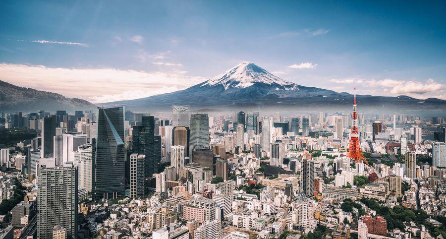 Gunung Fuji di Jepang