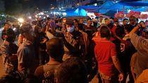 Tolak Jam Usaha Dibatasi Saat PSBB, Pedagang Pasar di Dumai Turun ke Jalan