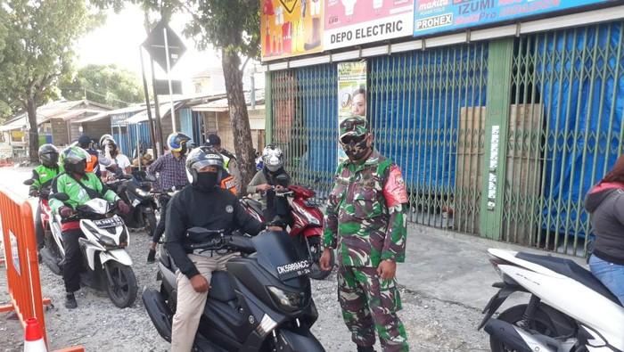 Babinsa yang Dimaki-maki Pria Mabuk di Pos PKM Denpasar Saat Bertugas