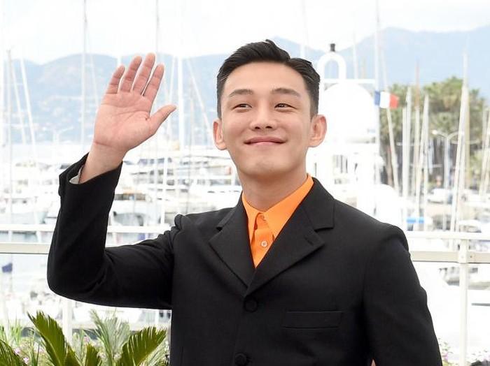 Yoo Ah In di Cannes Film Festival, Palais des Festival, Cannes, Prancis.