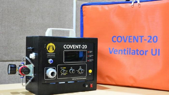 Ventilator COVENT-20 bikinan UI. (Foto: dok. UI)