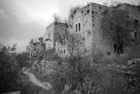 Desa Lifta berada di Tepi barat Yerusalem, di Israel. Lifta dulunya adalah perkampungan Arab-Palestina. (Getty Images/iStockphoto/SeanPavonePhoto)