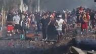 Chile Rusuh Saat Lockdown, Polisi Dilempari Batu Hingga Molotov