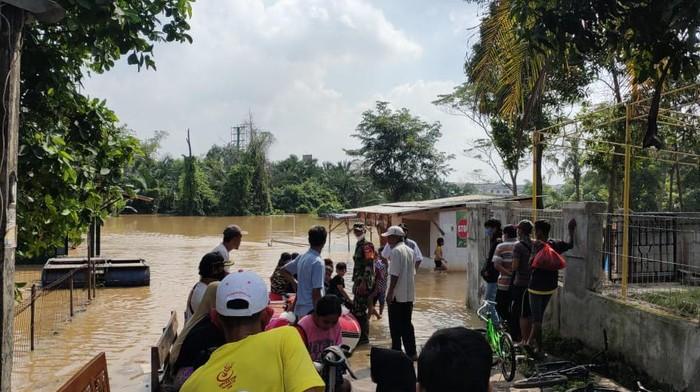 Banjir di Kabupaten Tangerang.