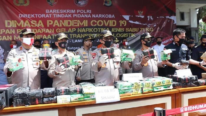 Polisi Bongkar Penyelundupan Sabu