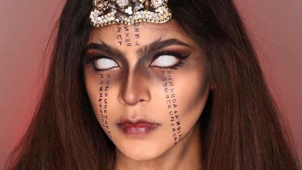 Viral #LathiChallenge, Transformasi Makeup Keren Pakai Lagu EDM Nuansa Jawa