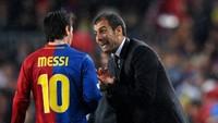 Guardiola Berharap Messi Bertahan di Barcelona