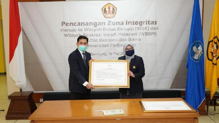 Rektor Unpad canangkan FEB sebagai zona integritas