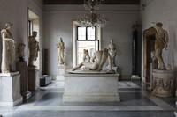 Sejak saat itu, koleksi museum telah bertambah termasuk diantaranya sejumlah besar patung Romawi kuno, inskripsi dan artefak lainnya; koleksi seni abad pertengahan dan renaissans; koleksi perhiasan, koin dan benda lainnya. Museum ini dimiliki dan dioperasikan oleh pemerintah kota Roma.