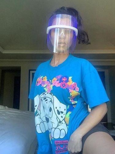 Face Shield Kourtney Kardashian