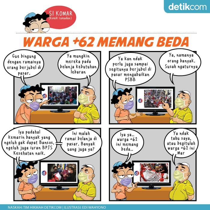 Komik Ramadhan,  Warga +62