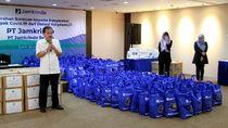 Bantu Warga Terdampak Corona, Pegawai Jamkrindo Donasikan Gaji Rp 2,9 M