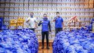 AHY Lepas 18.000 Bantuan Sembako untuk TerdampakWabah Corona di Jabar-Banten