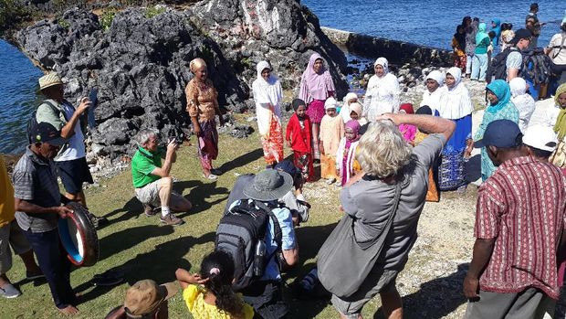 Pulau Arguni, kampung muslim di Fakfak