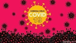 Sebaran 23.851 Kasus Positif Corona di 34 Provinsi, DKI-Jatim-Jabar Terbanyak