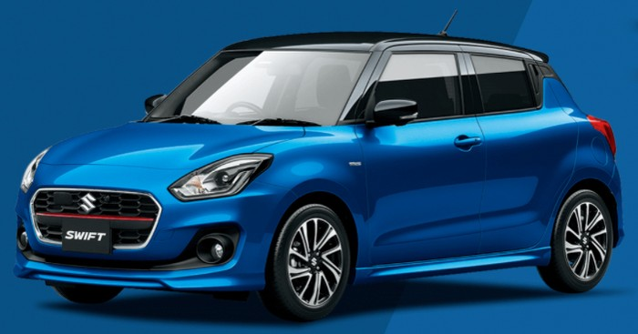 Suzuki Swift facelift 2020