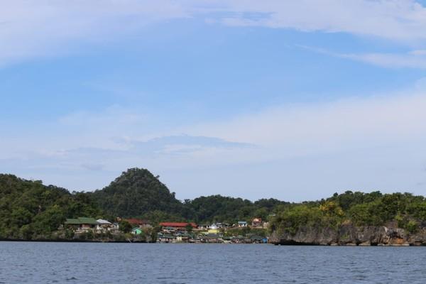 Pulau ini adalah sebuah perkampungan muslim. (dok Istimewa/Hari Suroto)