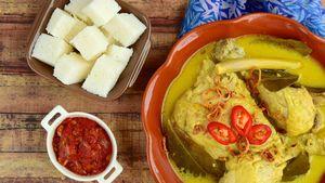 Menu Harian Ramadhan Ke-30 : Opor Ayam dan Sayur Gurih Siap Jadi Sajian Lebaran