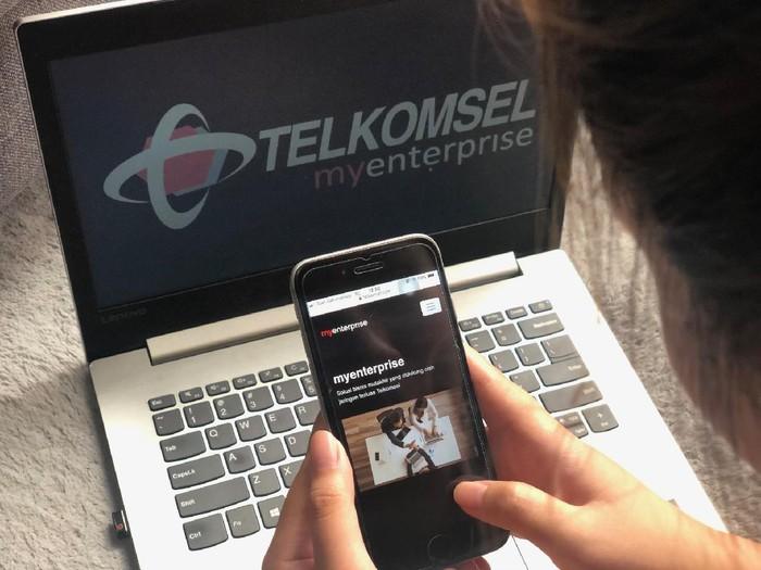 Telkomsel meluncurkan platform myenterprise, solusi terbaru bagi pelanggan segmen korporasi (enterprise).