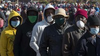 Lockdown Afrika Selatan Dilonggarkan, Warganya Malah Antre Beli Miras