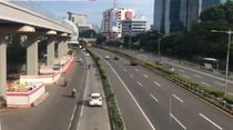 H-3 Lebaran, Pagi Ini Arus Lalin Tol Dalam Kota Lancar