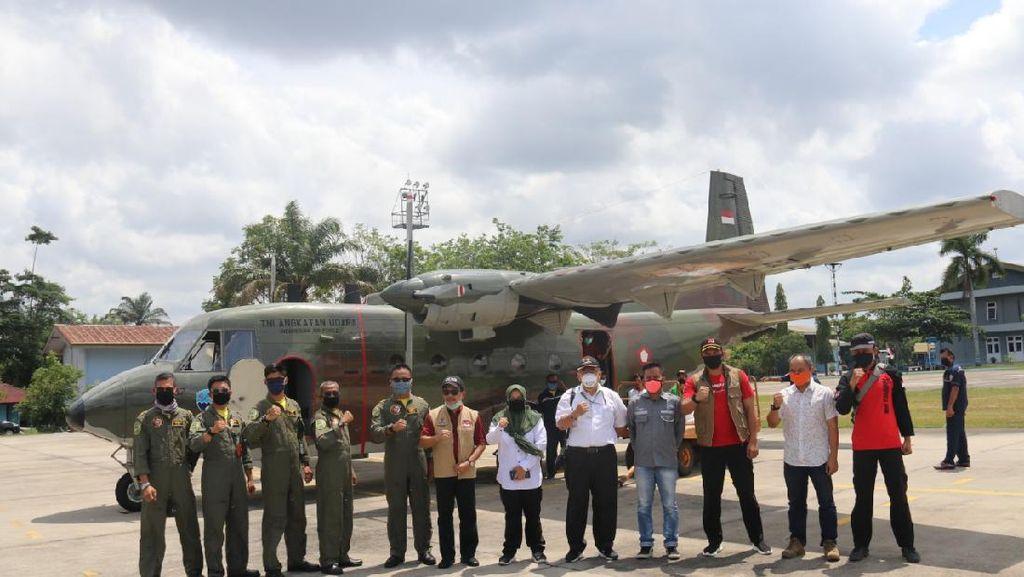 Lebaran, KLHK Tetap Jalankan Operasi Rekayasa Hujan di Riau