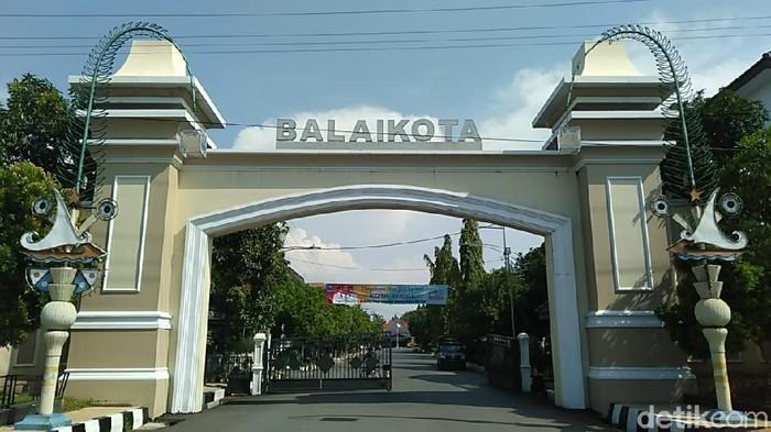 Balai Kota Tegal, Kamis (21/5/2020).