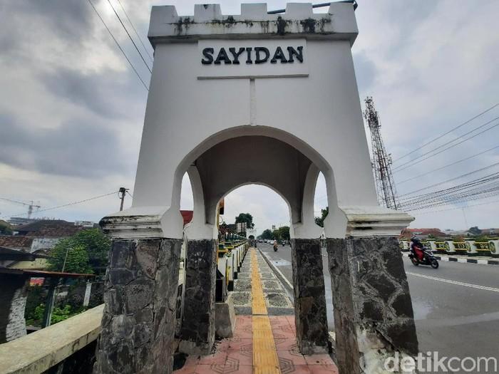 Jembatan Sayidan, Yogyakarta, Kamis (21/5/2020).