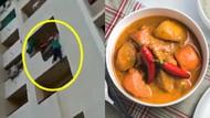 Makanannya Kurang Pedas, Pria Ini Ancam Akan Lompat Dari Balkon