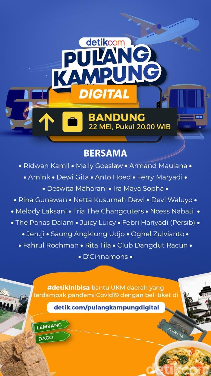 Pulang Kampung Digital Bandung