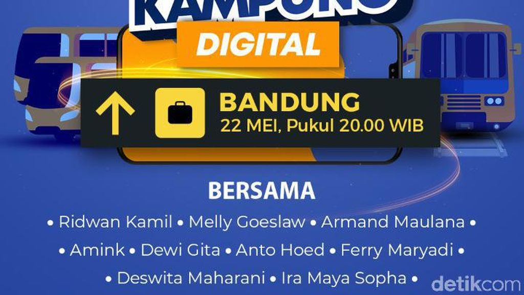 Digoyang Mang! Dangdut Koplo-Hardcore Punk Ramaikan Pulang Kampung Digital Bandung