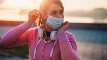 Paru-paru Bisa Saja Kolaps Saat Joging, Tapi Bukan karena Pakai Masker