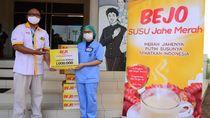 Gerakan Sejuta Susu Jahe Merah untuk 200 Rumah Sakit se-Indonesia