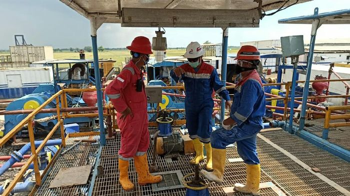 Pertamina Bor Sumur Minyak di Losarang Indramayu