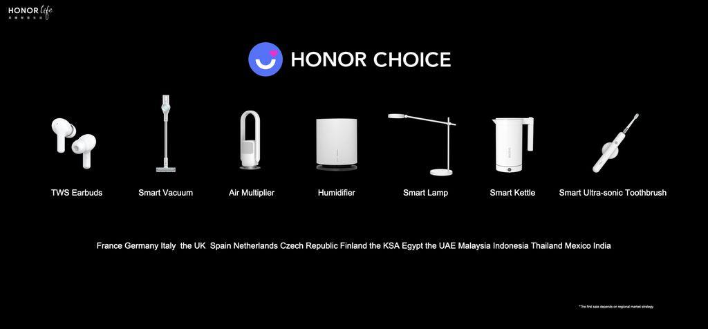 Jajaran Produk Baru Honor