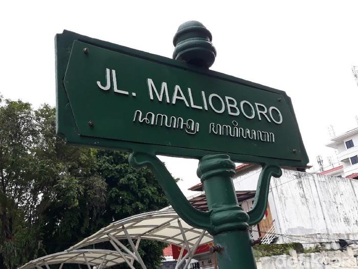 Suasana sepinya Malioboro jelang lebaran, Kamis (21/5/2020).