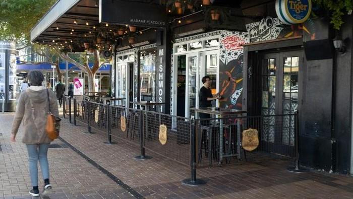 Bar-bar di Selandia Baru mulai buka kembali pascalockdown (AFP Photo)