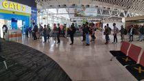 Bandara Makassar Layani 9.290 Penumpang, Otban Jamin Protap Corona Dijalankan