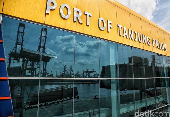 Begini suasana di terminal penumpang Pelabuhan Tanjung Priok, Jakarta.