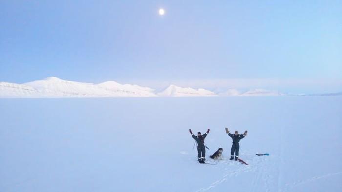 Penjelajah Kutub Utara, Hilde Falun Strom dan Sunniva Sorby