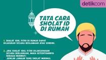 Tata Cara Sholat Idul Fitri di Rumah Sendiri